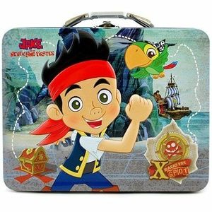 Jake And The Neverland Pirates Square Tin Statione